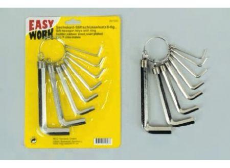 Easy Work Sechskant-Stiftschlüsselsatz 8teilig bei handwerker-versand.de günstig kaufen