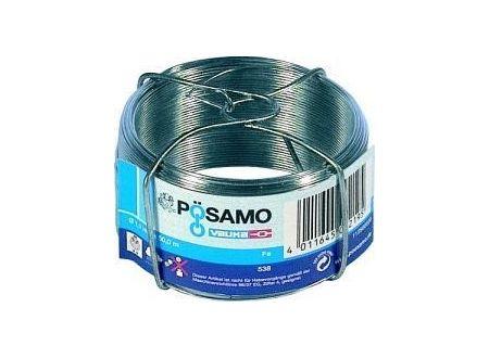 Pösamo Draht verzinkt 1,1mm a 50m auf Spule kaufen
