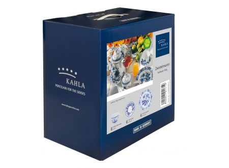 Kahla/Thüringer Porzellan Kahla Rosella Zwiebelmuster Kaffeeset 18tlg.