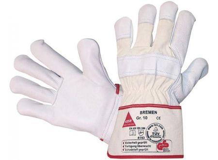 Fortis Handschuh Bremen, Rindnarbenleder, Größe 10 Lieferumfang: 12 Paar