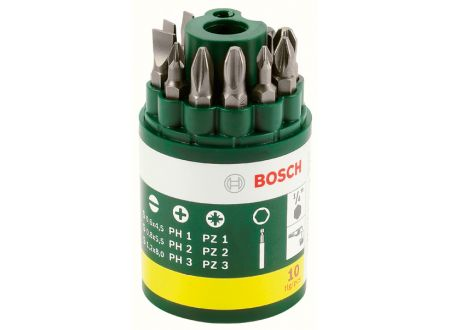 Bosch Bit Runddose, 10-tlg.