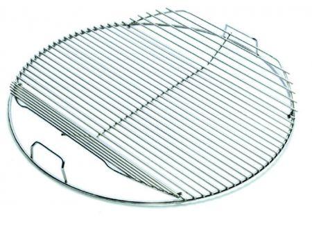Weber BBQ (57 cm) - Grillrost (Edelstahl, klappbar) bei handwerker-versand.de günstig kaufen