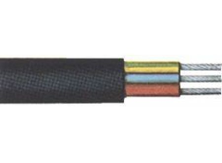 EDE Erdkabel NYY-J 5x1,5 mm2, 25 m-Ring