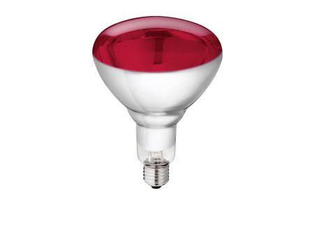 Hartglaslampe Philips 150W 240V rot