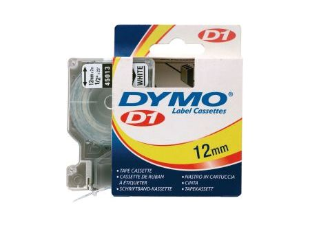 Dymo 45013 Schriftbänder schwarz/weiss 12mmx7m 1 Stück bei handwerker-versand.de günstig kaufen