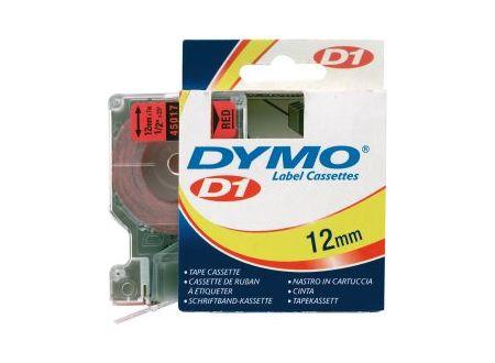 Dymo 45017 Schriftbänder schwarz/rot 12mmx7m 1 Stück bei handwerker-versand.de günstig kaufen