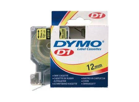 Dymo 45018 Schriftbänder schwarz/gelb 12mmx7m 1 Stück bei handwerker-versand.de günstig kaufen