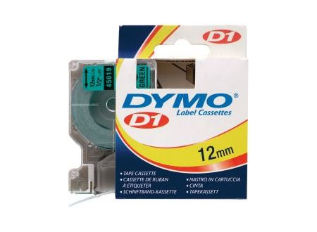 Dymo 45019 Schriftbänder schwarz/grün 12mmx7m 1 Stück bei handwerker-versand.de günstig kaufen