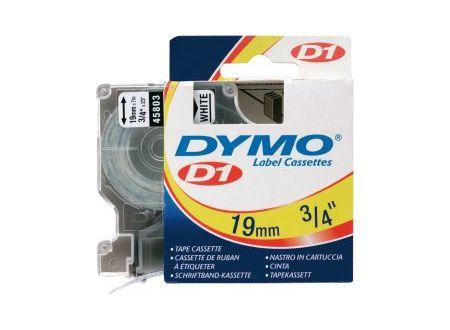 Dymo 45803 Schriftbänder schwarz/weiss 19mmx7m 1 Stück bei handwerker-versand.de günstig kaufen