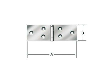 Tischbänder breit 100x32 mm Nr. 505100Z
