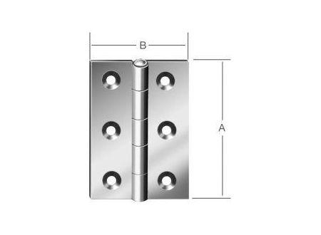 EDE Scharniere halbbreit 100x72mm Nr. 502100Z bei handwerker-versand.de günstig kaufen