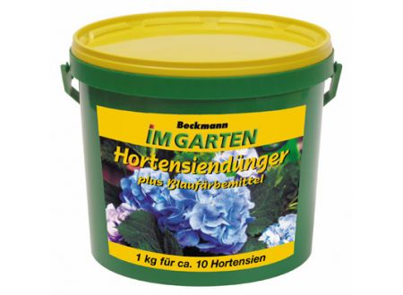 Beckmann + Brehm Hortensiendünger plus Blaufärbemittel 0,9 kg bei handwerker-versand.de günstig kaufen