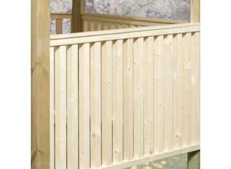 Brüstungsgeländer-Set für Gartenoase 651 Größe 1-3 bei handwerker-versand.de günstig kaufen