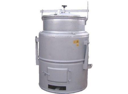 Feuerungsdämpfer 63 Liter, verzinkt