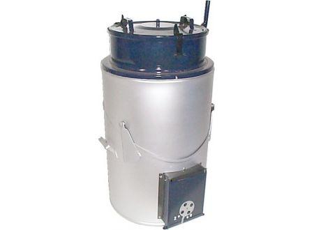 Feuerungsdämpfer 65 Liter, emailliert