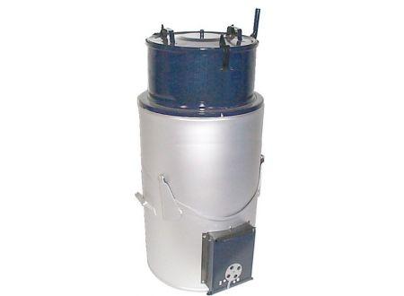 Feuerungsdämpfer 85 Liter, emailliert