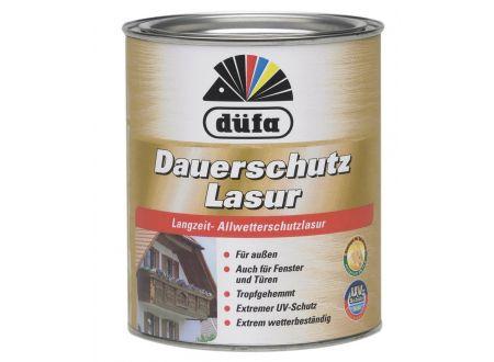 Schlau Düfa Dauerschutzlasur 2,5l, 4 nußbaum bei handwerker-versand.de günstig kaufen