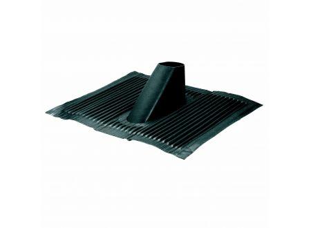 Aluminium-Dachhaube schwarz