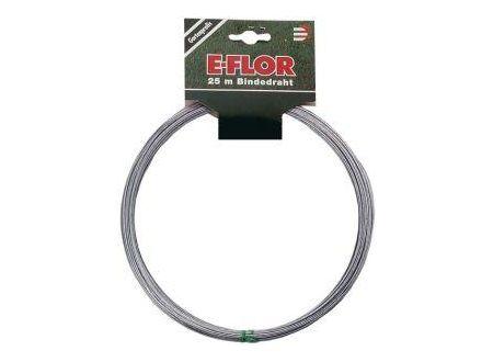 E-FLOR Bindedraht verzinkt 1,2 mm 25-m-Ringe bei handwerker-versand.de günstig kaufen