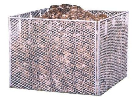 Brinkmann Komposter Streckmetall 80 x 80 x 70 cm Brista