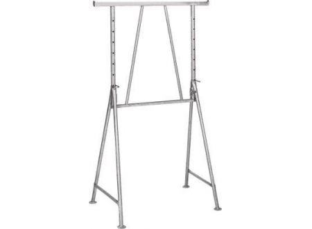 Stahlrohr-Gerüstbock lackiert B 1,20 m, H 1,20 - 1,95 m