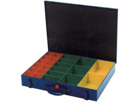 EDE Sortimentskasten 440x330x66mm mit 23 Kunststoff-Einsätzen (H) 1 bei handwerker-versand.de günstig kaufen