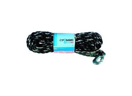 Pösamo Polypropylen-Seil schwarz-weiß 14mm x 10m mit Haken bei handwerker-versand.de günstig kaufen
