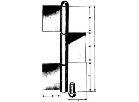 Simonswerk Konstruktionsbänder blank KO 8 240/ 5 mm bei handwerker-versand.de günstig kaufen