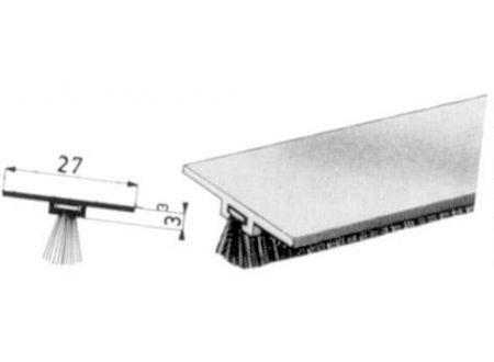 DBS-Türbodendichtung Nr. 0307091 Alu 100cm