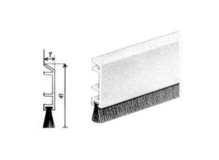 Ellen PDS-B-Türbodendichtung Nr. 0702291 braun 100cm bei handwerker-versand.de günstig kaufen