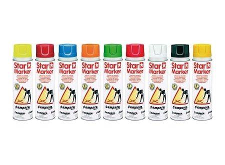 EDE Baustellenmarkierspray Star Marker 500ml weiß bei handwerker-versand.de günstig kaufen