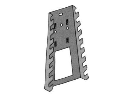 Bohnacker Werkzeughalter weiß 11410 1 Stück auf Karte bei handwerker-versand.de günstig kaufen