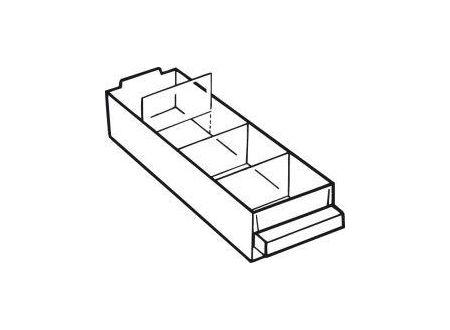Allit AG Trennwand Satz a 36 Stück für Schublade Typ A bei handwerker-versand.de günstig kaufen
