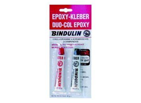 Bindulin Epoxy-Kleber Duo-Col Epoxy 40g K2 Lieferumfang: 15 Stück