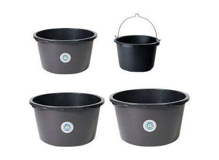 EDE Mörtelkübel schwarz ohne Bügel, 40 l bei handwerker-versand.de günstig kaufen