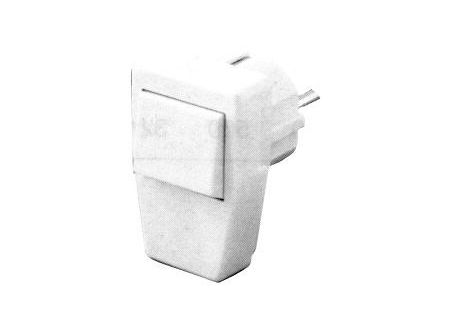 ede schuko stecker mit kontroll lampe wei kaufen. Black Bedroom Furniture Sets. Home Design Ideas