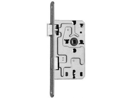 SSF Einsteckschloss Innentüren 55/72BB18 rund silber Links bei handwerker-versand.de günstig kaufen