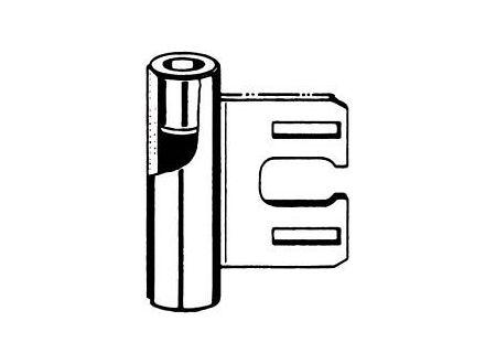 Simonswerk Variant-Rahmenteil V 8000WF vernickelt bei handwerker-versand.de günstig kaufen