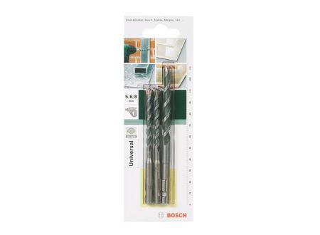 Bosch Mehrzweckbohrer-Set SDS-Quick, 3-teilig, 5 - 8 mm bei handwerker-versand.de günstig kaufen