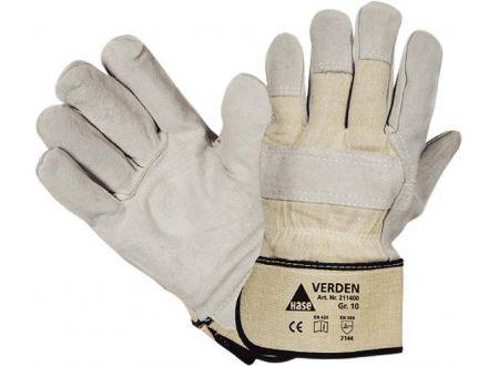 Fortis Handschuh Verden Spaltleder grau Mischgewebe bei handwerker-versand.de günstig kaufen