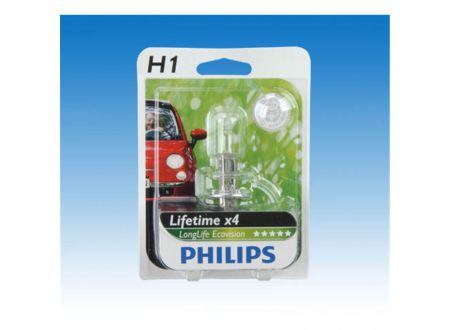 PHILIPS H1 LongLife Ecovision bei handwerker-versand.de günstig kaufen