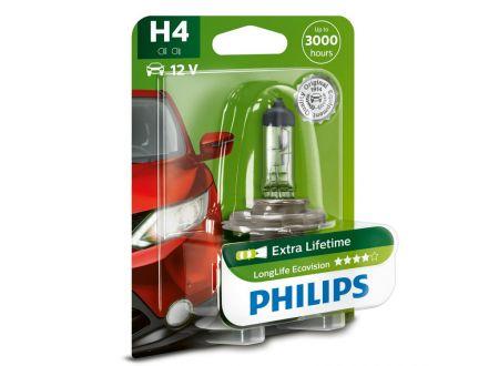 PHILIPS H4 Long Life Ecovision bei handwerker-versand.de günstig kaufen