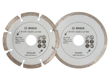 Bosch 2 Diamant Trennscheiben 115 Baumat./Flie bei handwerker-versand.de günstig kaufen