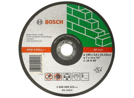 Bosch Trennscheibe 115X2,5 mm für Stein ger 25 Stück bei handwerker-versand.de günstig kaufen