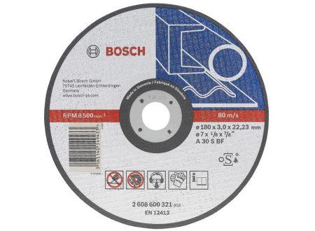Bosch Trennscheibe 230x22,23x3,0 mm Guss 25 Stück