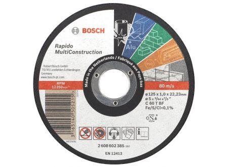 Bosch Trennscheibe Rapido MC 125 x1,0mm bei handwerker-versand.de günstig kaufen