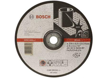 Bosch Schruppscheibe 125x6 mm für INOX 10 Stück bei handwerker-versand.de günstig kaufen