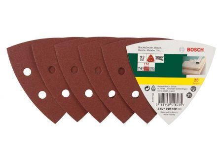 Bosch 125-teiliges Schleifblatt-Set für Delta-Schleifer, Körnung bei handwerker-versand.de günstig kaufen