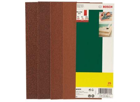 Bosch 25-teiliges Schleifblatt-Set für Schwingschleifer 93x230 m bei handwerker-versand.de günstig kaufen