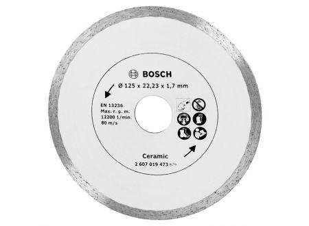 Bosch Diamanttrennscheibe 125 Fliesen bei handwerker-versand.de günstig kaufen